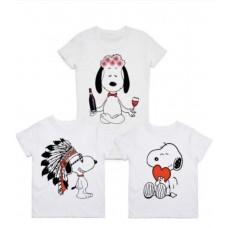 """Семейные футболки """"Дочка"""""""